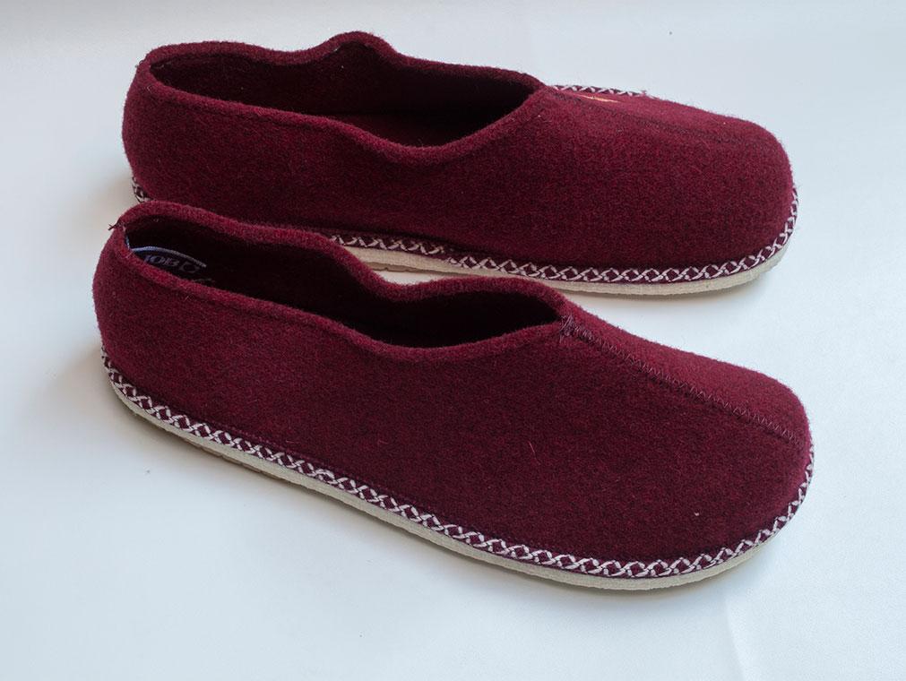 Pantofola in feltro